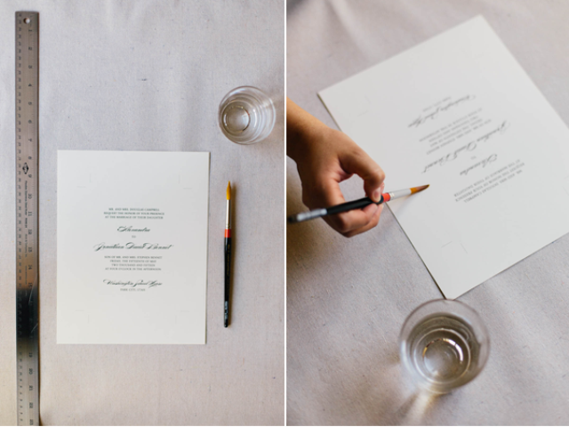 Create Perfect DIY Wedding Invitations