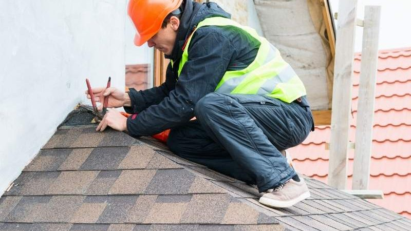 Replace Damaged Roof Shingles